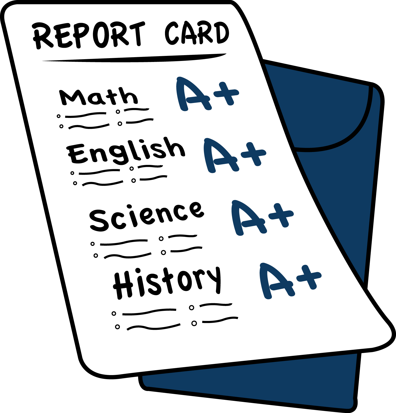 free clipart school report card - photo #44